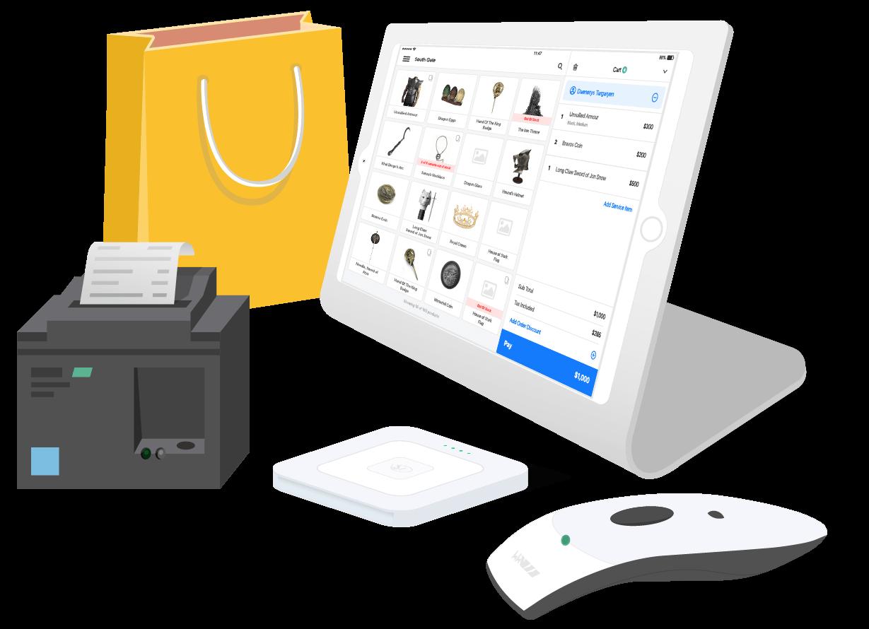 ipad based retail POS software