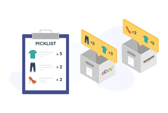 picklist and packslip printing software