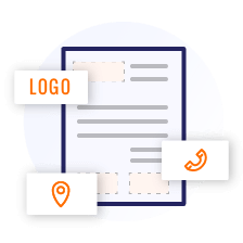 customizable invoice templates for printing and emails