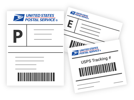 Print USPS shipping Labels