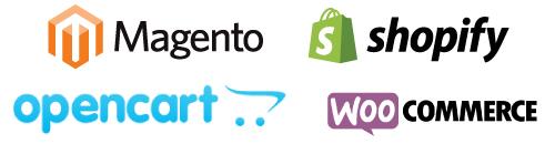 Magento-Opencart-Shopify-woocommerce