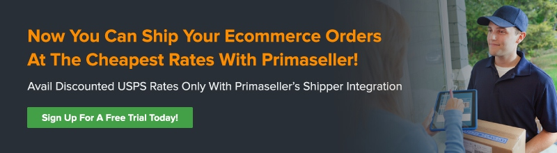 ecommerce shipping management with Primaseller