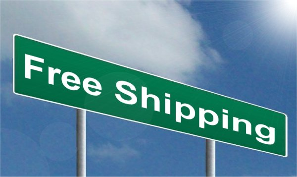 Free Shipping to attract buyers