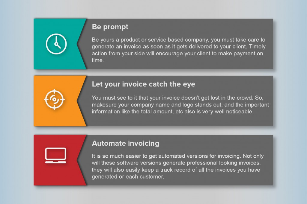How to make an effective invoice