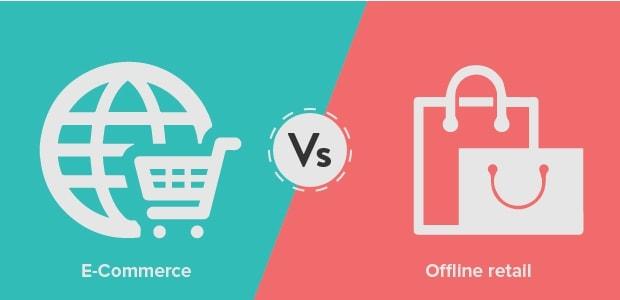 offline-vs-online retail