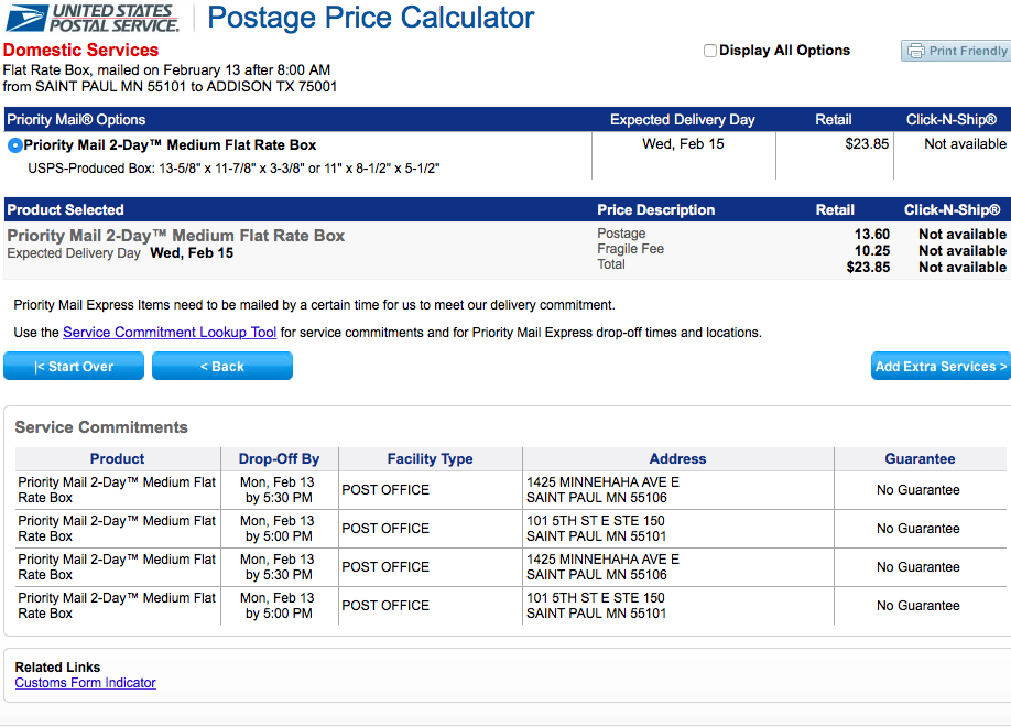 Discounted USPS Rates With Primaseller 1