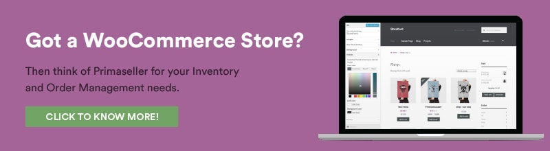 Woocommerce inventory and order management software