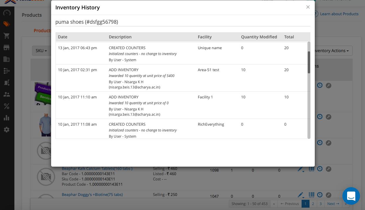 managing SKUs and inventory using primaseller 2