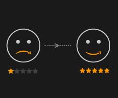 get positive feedback - amazon