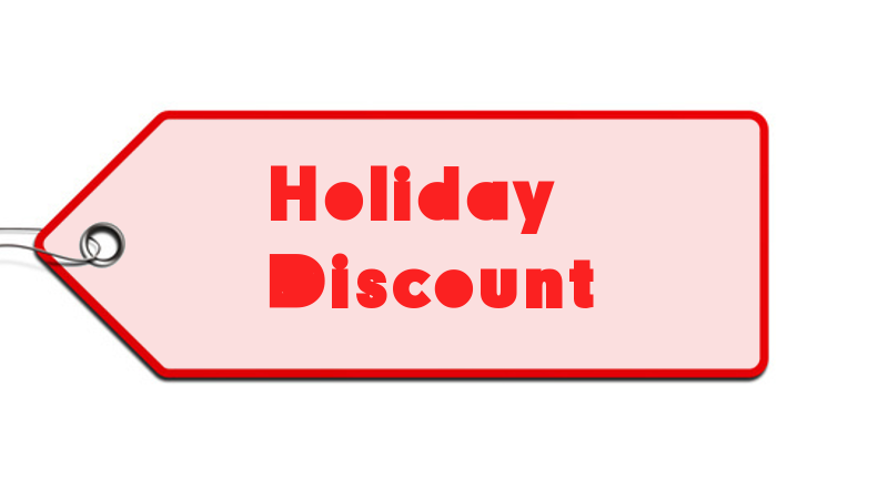 ecommerce holiday sales discount