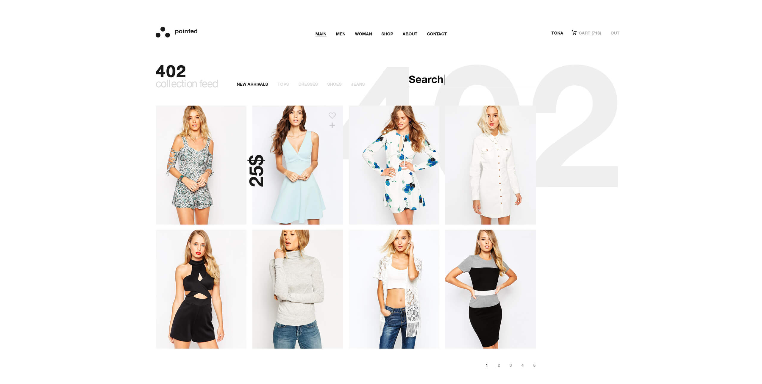 Building an apparel brand web presence